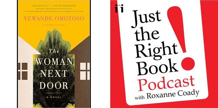 the woman next door just the right book