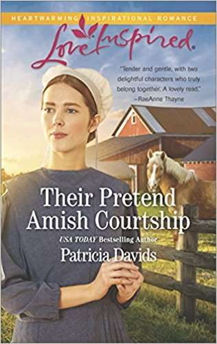 their pretend amish courtship patricia davids
